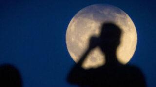 """Tercera y última """"súper luna"""" del año podrá ser vista el próximo martes"""