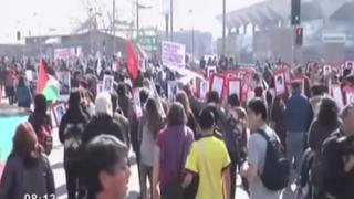 Chile: marcha contra golpe de Estado de Pinochet termina en disturbios