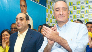 Elecciones 2014: Fernán Altuve y Álex Kouri se enfrentan por Salvador Heresi