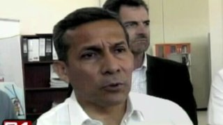 Presidente Humala pide a La Convención no dejarse manipular por instigadores