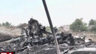 Malaysia Airlines: confirman que avión MH17 fue derribado en Ucrania