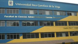 Poder Judicial anula investigación del Congreso a Universidad Garcilaso