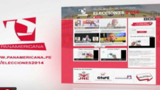 Elecciones 2.014: la web de Panamericana lo informa sobre proceso electoral