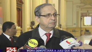 Mora denunciará a juez que anuló investigación contra Universidad Garcilaso