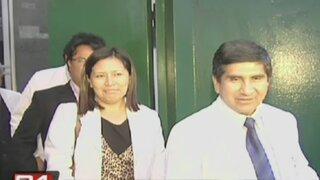 Alejandro Toledo se reunió con dirigente de médicos en huelga