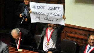 Congresista Jorge Rimarachín no será suspendido 120 días
