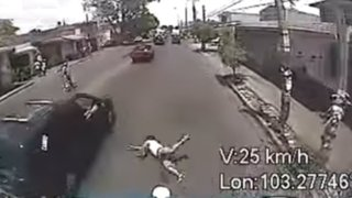 De accidentes y atropellos: cuando las pistas son testigos de terribles incidentes