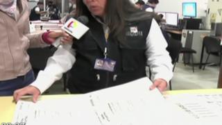ONPE inició la impresión de actas padrón para las elecciones del 5 de octubre