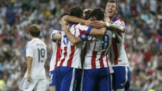 Bloque Deportivo: Atlético venció 2-1 al Real Madrid en su casa