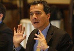 """Ministro Segura: """"Nunca rechacé diálogo con García, pero hay canales que seguir"""""""