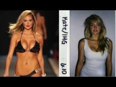 Revelan fotos inéditas de los primeros castings de 12 bellas y sexys modelos