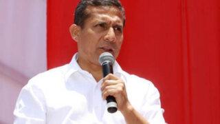 Presidente Ollanta Humala no asisitirá a comisión López Meneses