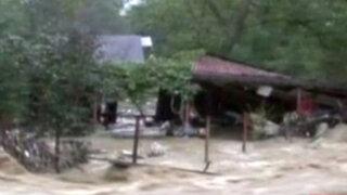 Rumania: inundaciones y deslizamientos al oeste del país