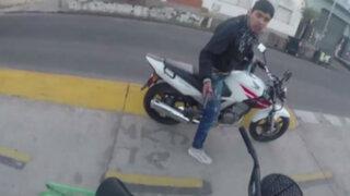 Argentina: cámara GoPro registra intento de asalto a joven ciclista