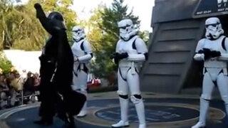 Star Wars: Darth Vader y las tropas imperiales realizan espectacular coreografía