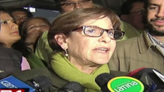 "Susana Villarán: ""Abastecimiento de alimentos está garantizado"""