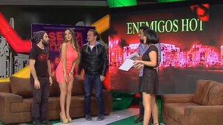 ¡De infarto!: Enemigos Hot recibe a la espectacular Rosángela Espinoza