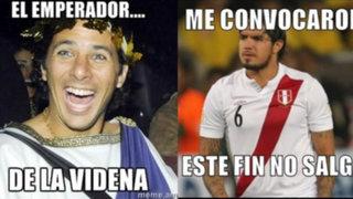 Los divertidos memes del regreso de Pizarro y Vargas a la selección peruana