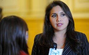 Solórzano promete tratar temas de Alexis Humala y Mayorga en el Pleno
