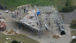 FOTOS: increíbles imágenes del taller secreto de 'Star Wars'