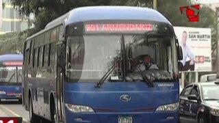 Miraflores: modificarán último paradero del Corredor Azul desde este fin de semana