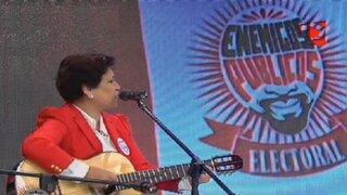 Nora Bonifaz: candidata a Lima deleita con su talento para el canto