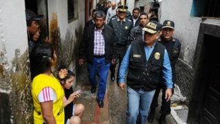 Ministro Urresti dijo que 100 policías custodiarán el cerro San Cosme