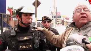 San Miguel: policía devuelve 20 mil soles a hombre que los había perdido