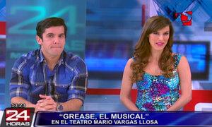 Tati Alcántara y Renato Bonifaz cuenta detalles de 'Grease, el musical'