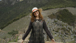 FOTOS: Gloria Trevi quedó maravillada con visita a ciudadela de Machu Picchu