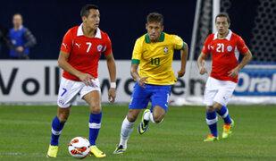 Chile enfrentará a la selección peruana con su equipo mundialista