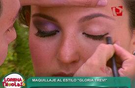 Lorena y Nicolasa: aprende a maquillarte al estilo de Gloria Trevi