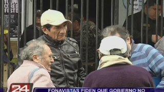 Fonavistas piden que Gobierno no participe en devolución de aportes