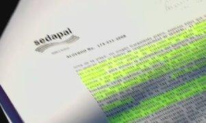 El Apra desvirtúa informe aprobado por el Pleno sobre caso Sedapal