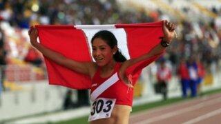 Inés Melchor batió récord en maratón de Santiago de Chile