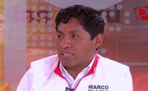 """Marco De la Cruz Bustillo: """"Provincias de Pasco padecen de desabastecimiento de agua"""""""