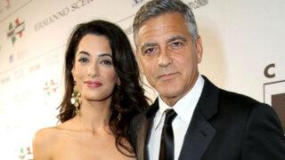 Así fueron los cuatro días de celebración por la boda de George Clooney