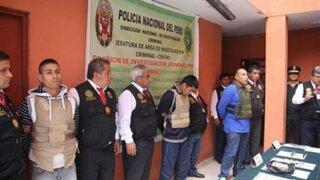 """SMP: capturan a integrantes de banda """"Los gatilleros del Callao"""""""
