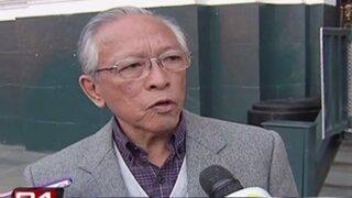 Humberto Lay anunció que congresista Mora sería investigado