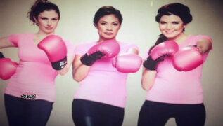 Nicole Faverón, Bárbara Cayo y Cecilia Tait se unieron a campaña del INEN