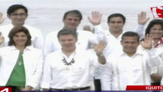Iquitos: presidentes Humala y Santos encabezaron Primer Gabinete Binacional