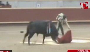 Torero Fernando Rey sufre terrible cornada en España