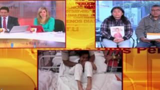Desesperada madre pide ayuda para menor que sufre 60 crisis de epilepsia al día