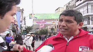 Mario Uribe: candidato por La Victoria lanza propuesta contra la inseguridad