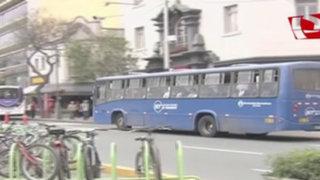 Miraflores y Barranco rechazan paradero final del Corredor Azul