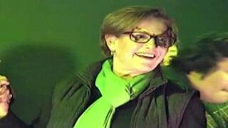 Susana Villarán: candidata alcaldesa cerró su campaña con pasacalle