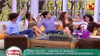 Actores de 'Grease' nos cuentan detalles del musical y sus personajes