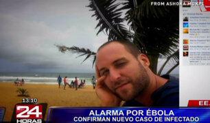 Camarógrafo de la NBC dio positivo a ébola y será evacuado a EEUU