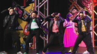 """Enemigos Públicos presente en el estreno oficial de """"Grease, el musical"""""""