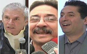 Candidatos esperan con optimismo los resultados de la ONPE